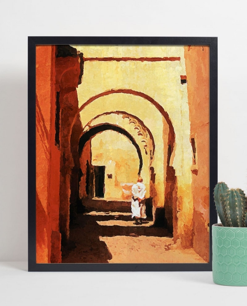 Wall Art Walking under the Arches