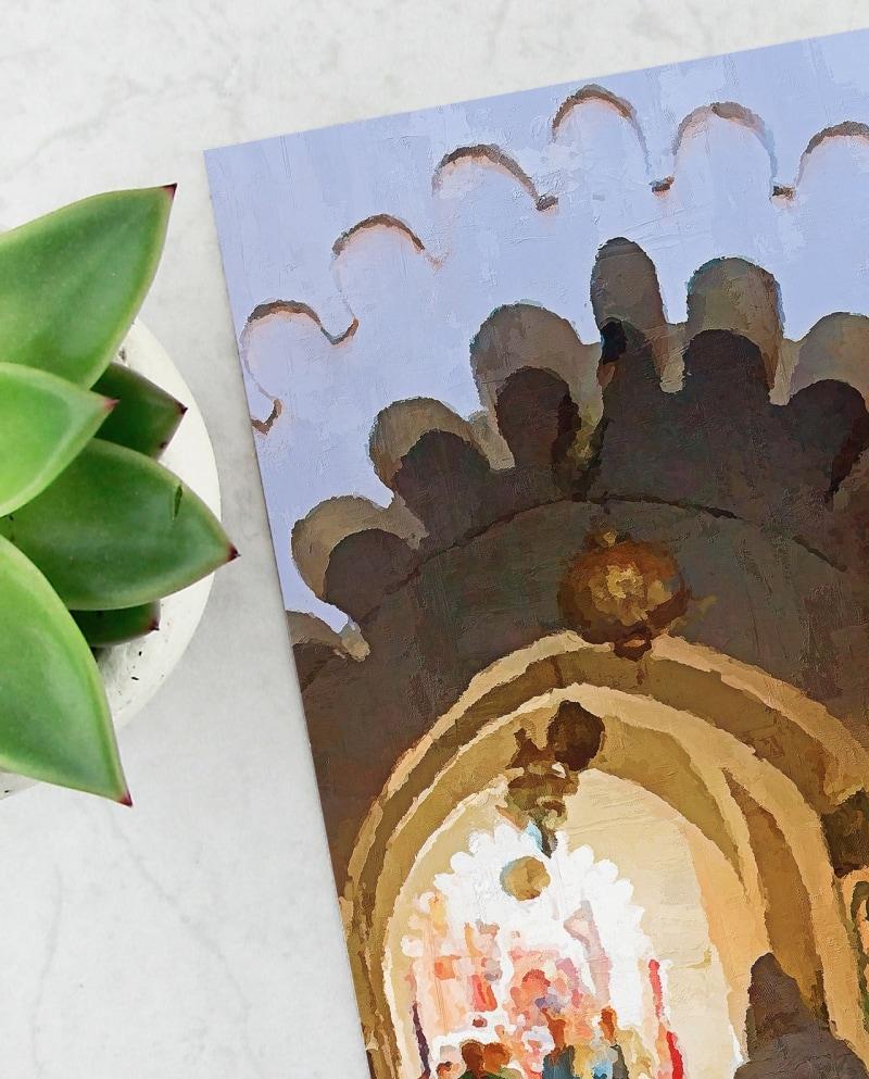 Wall Art Alleys of the Medina