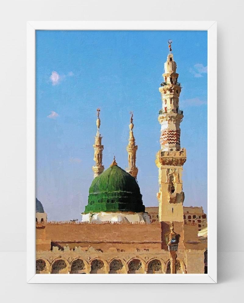 Wall Art Masjid Al-Nabawi
