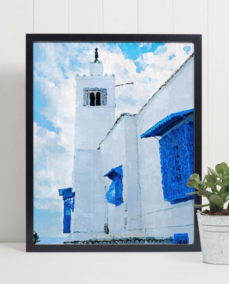 Wall Art Windows of Sidi Bou Said