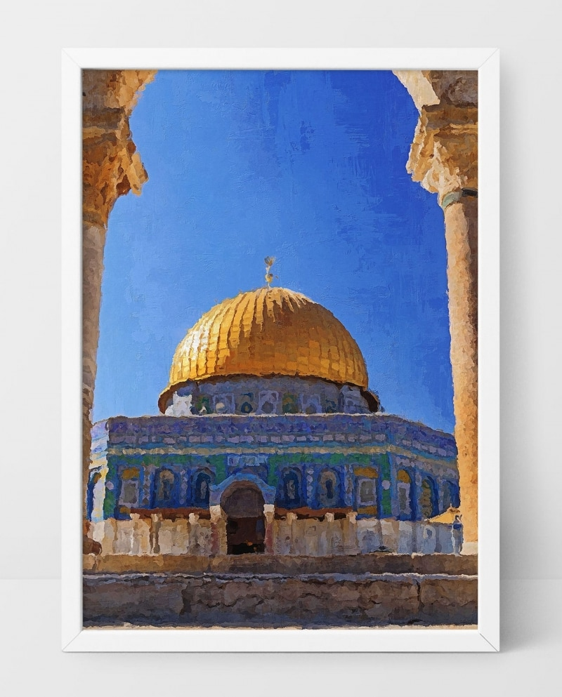 Wall Art Dome of The Rock
