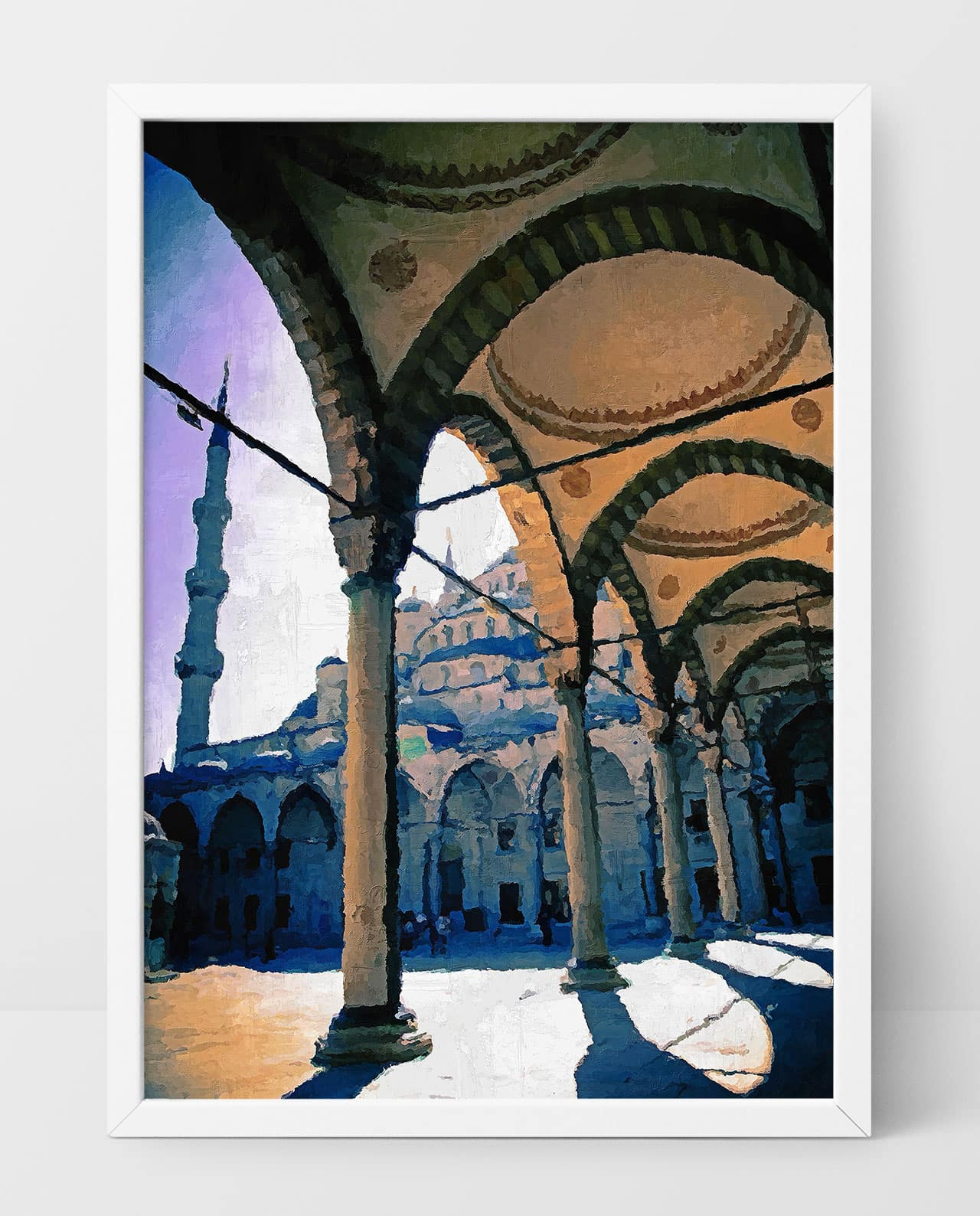 Wall Art Arches of the Blue Mosque