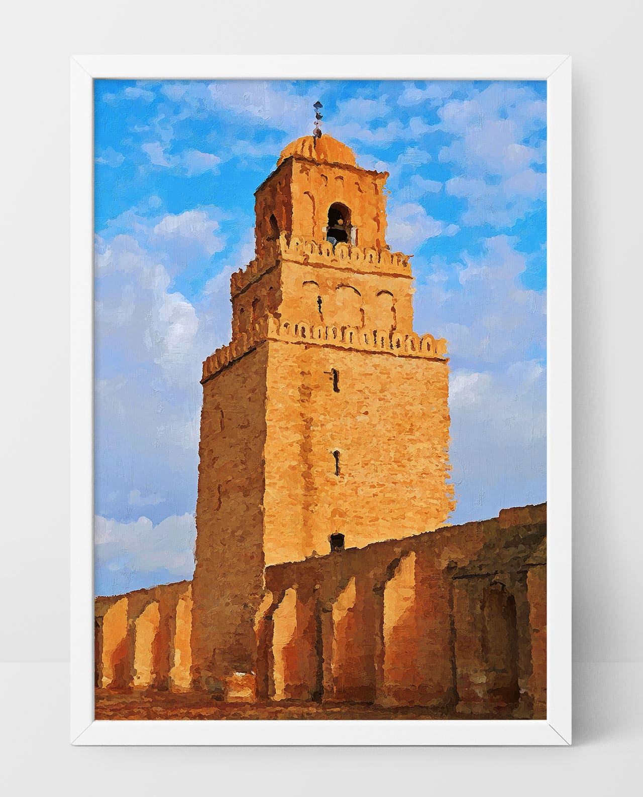 Wall Art Great Mosque of Kairouan