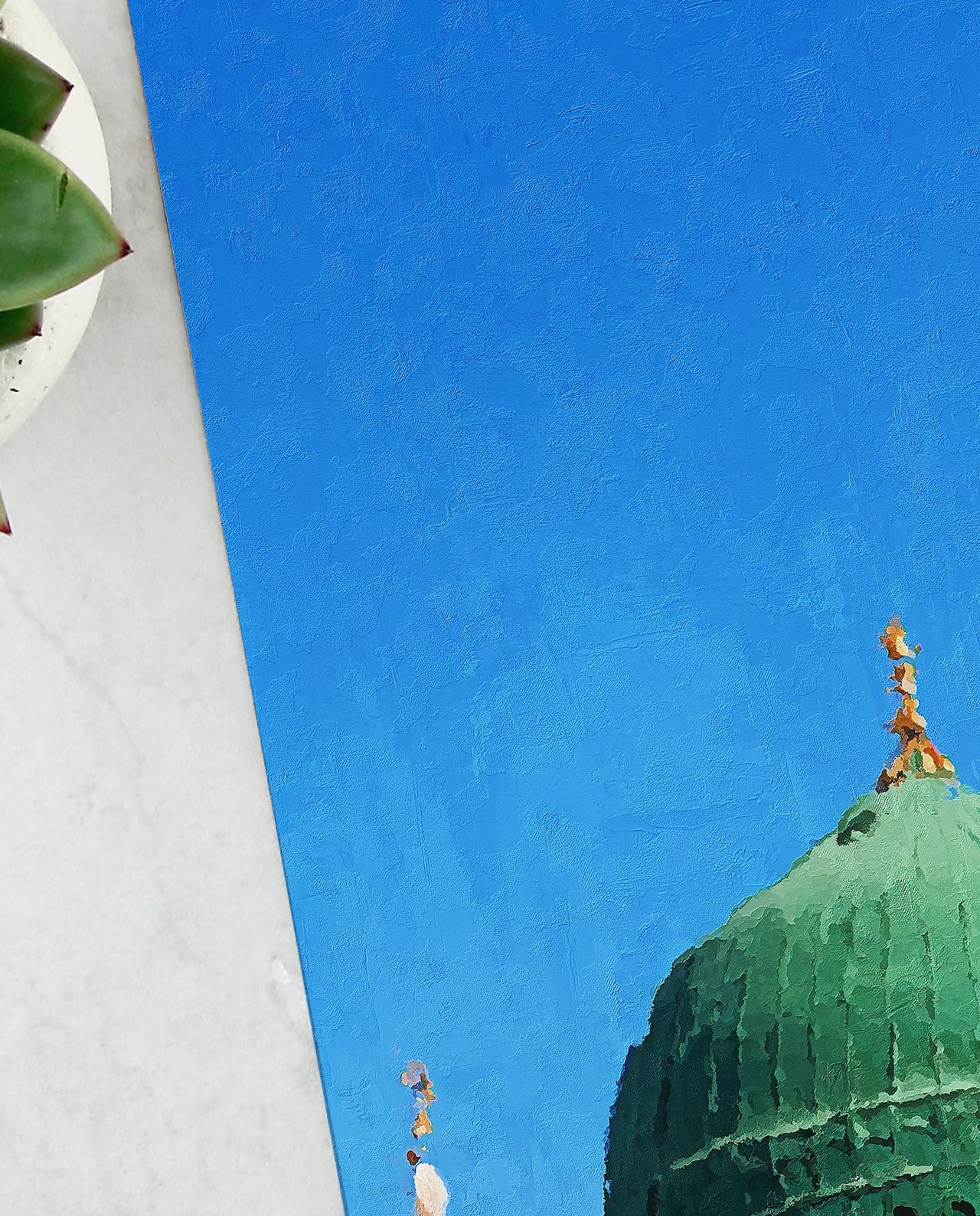Wall Art The Green Dome